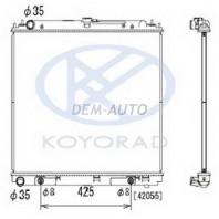 Patfinder {navara 06-} Радиатор охлаждения автомат 2.5 (турбодизель) (KOYO)