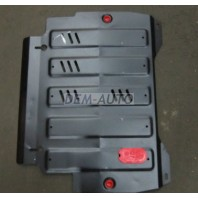 Patfinder {jx35 12-/qx60 13-}  Защита поддона двигателя + кпп , с креплением , 3.5 , стальная