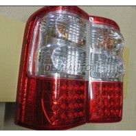 Patrol gr  Фонарь задний внешний левый+правый (комплект), тюнинг, диодный, указатель поворота, стоп-сигнал хрустальный, красно-белый