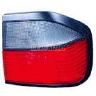 P10  Фонарь задний внешний правый (4 дв) бело-красный