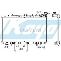P10  Радиатор охлаждения автомат (KOYO)