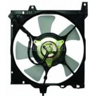 P10  Мотор+вентилятор радиатора охлаждения с корпусом автомат