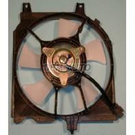 P10  Мотор+вентилятор конденсатора кондиционера с корпусом автомат