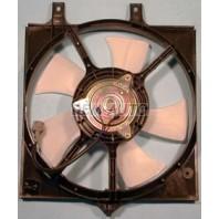P11  Мотор+вентилятор конденсатора кондиционера с корпусом