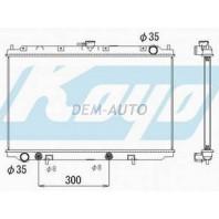 P11 Радиатор охлаждения автомат автомат 1.6 1.8 2 (KOYO)