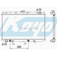 P11 Радиатор охлаждения автомат 1.6 1.8 2