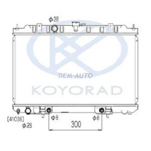 Bluebird sylphy {sentra /sunny /  wingroad /ad ban 00-}  Радиатор охлаждения автомат для Nissan Sentra - B14 , B15
