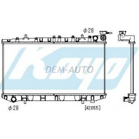 N14  Радиатор охлаждения механика 1.8 (KOYO)