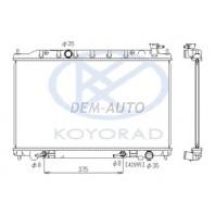 Радиатор охлаждения 2.3 , 3.5 автомат (KOYO)