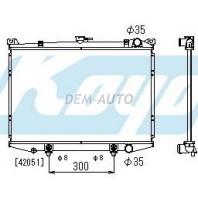 Terrano  Радиатор охлаждения автомат 2.4 3 (KOYO) (2 ряд)