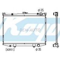 Terrano  Радиатор охлаждения механика 2.4 3 (KOYO)
