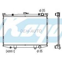 Terrano  Радиатор охлаждения механика 2.4 3