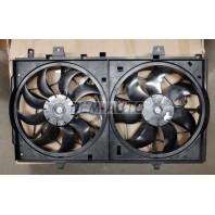 X-trail  Мотор+вентилятор радиатора охлаждения двухвентиляторный в сборе