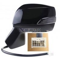 Forester  Зеркало левое электрическое с подогревом автоскладыванием указателем поворота 9 контактов (convex) грунтованное