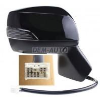 Forester  Зеркало правое электрическое с подогревом автоскладыванием указателем поворота 9 контактов (convex) грунтованное