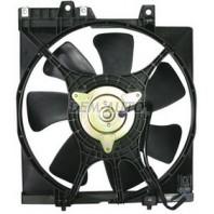 Forester  Мотор+вентилятор конденсатора кондиционера с корпусом