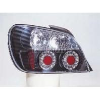 Impreza  Фонарь задний внешний левый+правый (комплект) тюнинг (седан) прозрачная с диодами (SONAR) внутри черно-хромированная