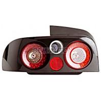 Impreza  Фонарь задний внешний левый+правый (комплект) тюнинг 3D-ДИЗАЙН корпус черный