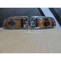 Impreza  Указатель поворота нижний левый+правый (комплект) (седан) тюнинг прозрачный внутри хром