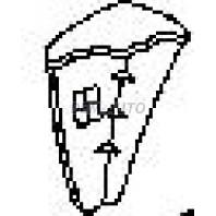G.vitara {+xl7}  Боковина бампера передняя правая (USA) грунтованная