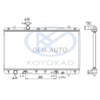 Liana  Радиатор охлаждения 1.5 1.6 автомат (KOYO)