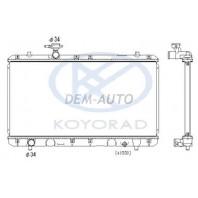 Liana  Радиатор охлаждения1.5 1.6 механика (KOYO)