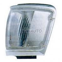 Указатель поворота угловой левый с хромом