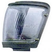 Указатель поворота угловой левый с серебристо-серый