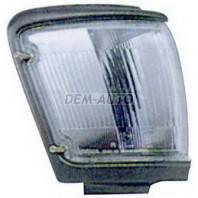 Указатель поворота угловой правый с серебристо-серый