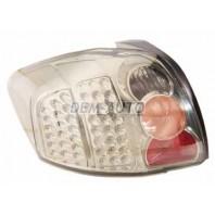 Auris  Фонарь задний внешнийтюнингс диодами прозрачныйлевый+правый (КОМПЛЕКТ) внутри хромированный