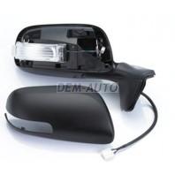 Auris  Зеркало правое электрическое с подогревом , диодный указатель поворота , 7 контактов , грунтованное