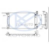 Avensis  Радиатор охлаждения автомат 2 2.4 (KOYO)