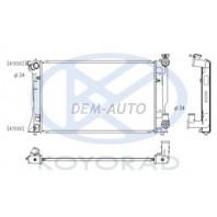 Avensis  Радиатор охлаждения механика 2 2.4