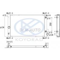 Avensis  Радиатор охлаждения автомат(KOYO)