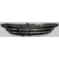 Avensis  Решетка радиатора внутренняя хромированная-черная