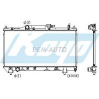 Avensis {4afe/7afe}  Радиатор охлаждения механика 1.6 1.8 (KOYO)