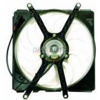 Avensis  Мотор+вентилятор радиатора охлаждения левый с корпусом 1.6 1.8 2