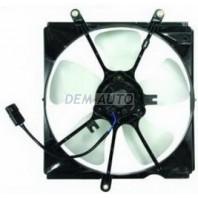 Avensis  Мотор+вентилятор радиатора охлаждения правый с корпусом 1.6 1.8 2