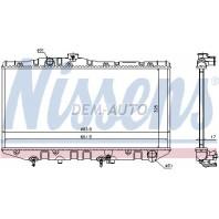 Camry  Радиатор охлаждения автомат 2 (1 ряд)