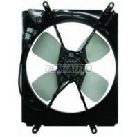 Мотор+вентилятор радиатора охлаждения правый с корпусом 2.2 4 цилиндра