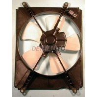 Мотор+вентилятор радиатора конденсатора кондиционера с корпусом 2.2 4 цилиндра