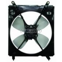 Мотор+вентилятор радиатора охлаждения левый с корпусом 2.2 4 цилиндра