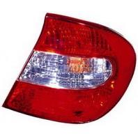 Фонарь задний внешний правый (DEPO) красно-белый