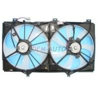 Camry  Мотор+вентилятор радиатора охлаждения двухвентиляторный