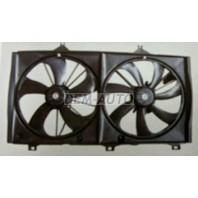 Camry  Мотор+вентилятор радиатора охлаждения двухвентиляторный (Китай)