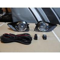 Camry  Фара противотуманная левая+правая (комплект) с проводкой , кнопкой , решеткой бампера