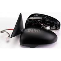 Camry  Зеркало левое электрическое с подогревом с указателем поворота (aspherical)грунтованное