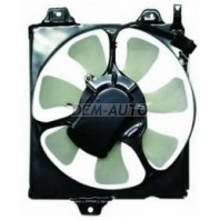 Carina e  Мотор+вентилятор конденсатора кондиционера с корпусом