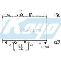 {ДЛИНА 640мм} Радиатор охлаждения автомат 1.3 1.5 1.6 1.8 (KOYO)
