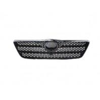 Corolla  Решетка радиатора(ХЭТЧБЭК) хромированная-черная